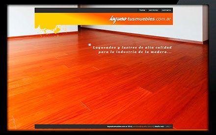 Diseño web Laquea tus muebles