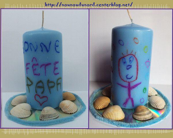 Bougie parfumée décorée pour la Fête des pères http://nounoudunord.centerblog.net/1145-bougie-parfumee-decorer-pour-la-fete-des-peres