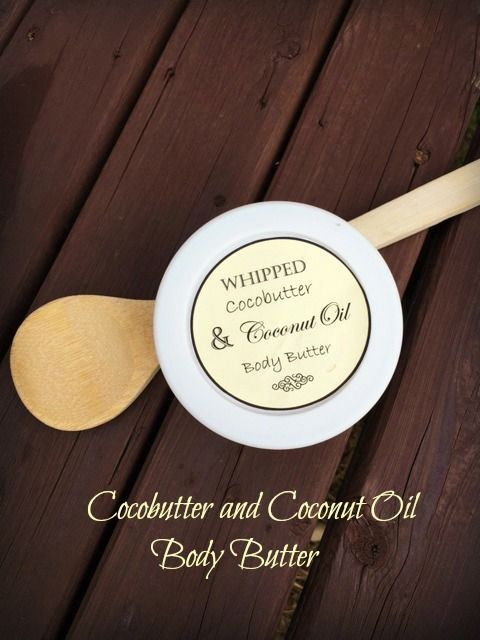 This coconut oil and cocobutter body butter is perfect for all your dry patches especially hands and feet.