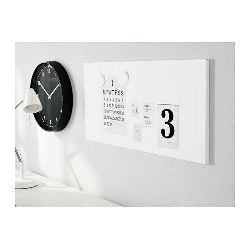 IKEA SPONTAN Tableau magnétique - blanc SPONTAN Tableau magnétique, blanc EURO 9,99 / 37x78 cm