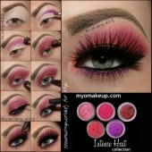 5 MYO Intense Heat Set Eyeshadow Pigment Mica Cosmetic Mineral Makeup Limited Color