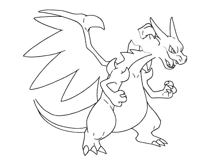 Mega Charizard Coloring Page Coloring Pages Coloring Pages Throughout Printable Inspirations Mega Colo Coloriage Pokemon Coloriage Pokemon A Imprimer Coloriage