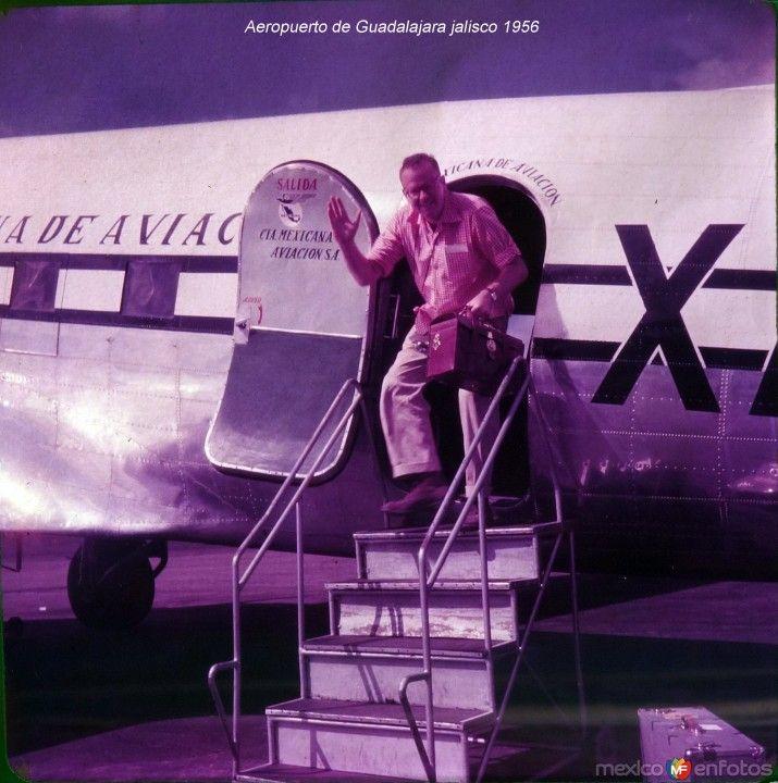 AeropuertodeGuadalajarajalisco1956CompaniaMexicanadeAviacion.