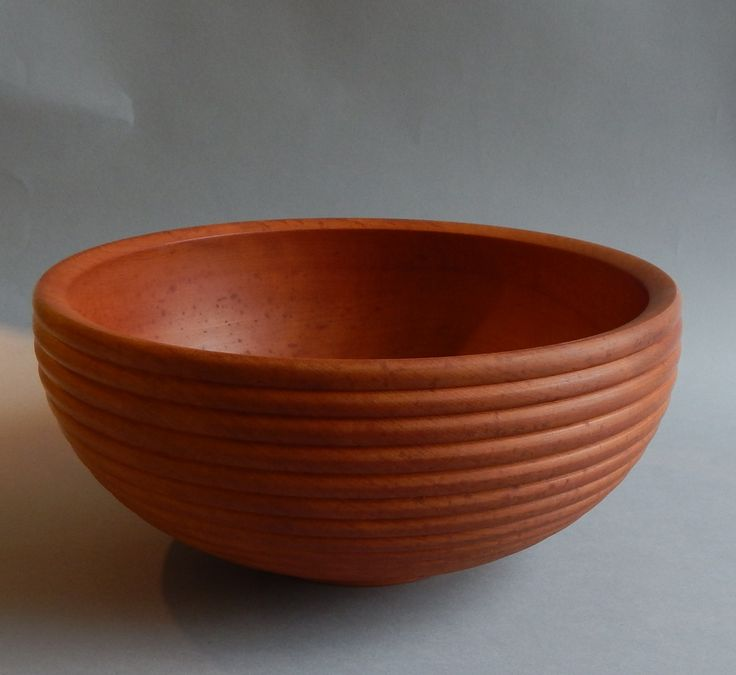 madrone salad bowl by dale larson