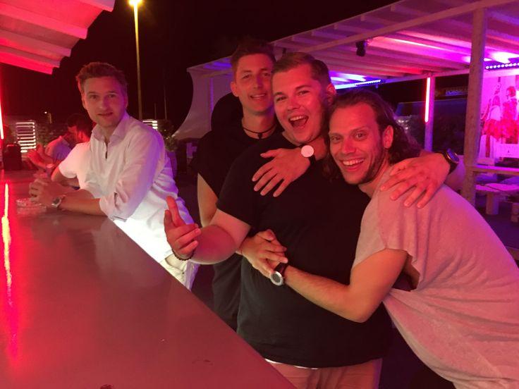 Aug 2016. Italien med Mads, Sune, Nikolaj og Christian. :)