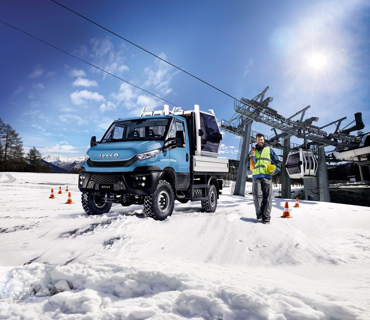 Iveco Daily 55 4x4 Chassis Cab '2016