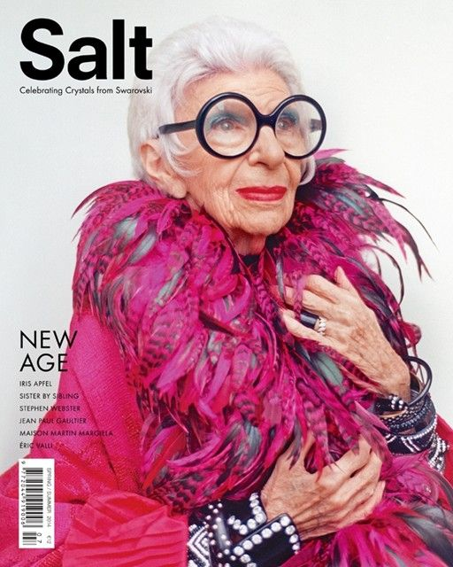 Iris Apfel | Cover by Niall O'Brien