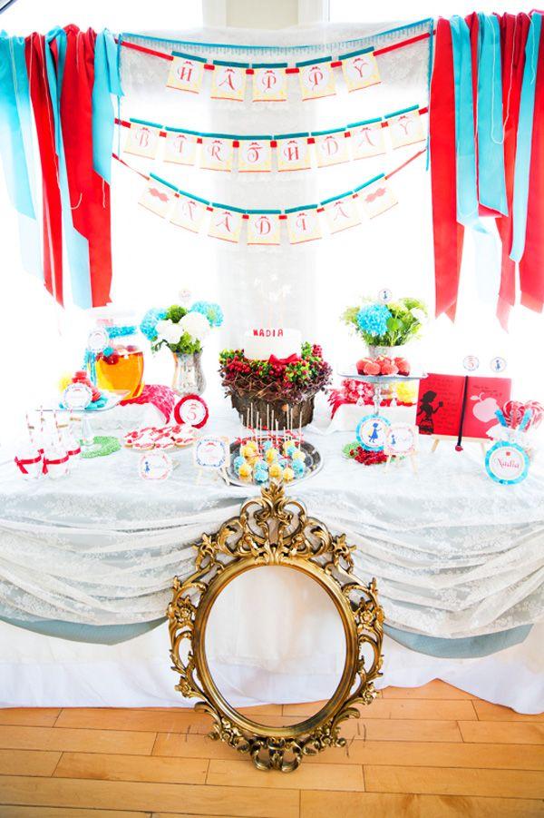Charming Snow White Dessert Table. I love the whole. MINI theme idea. Even if its not snow white!