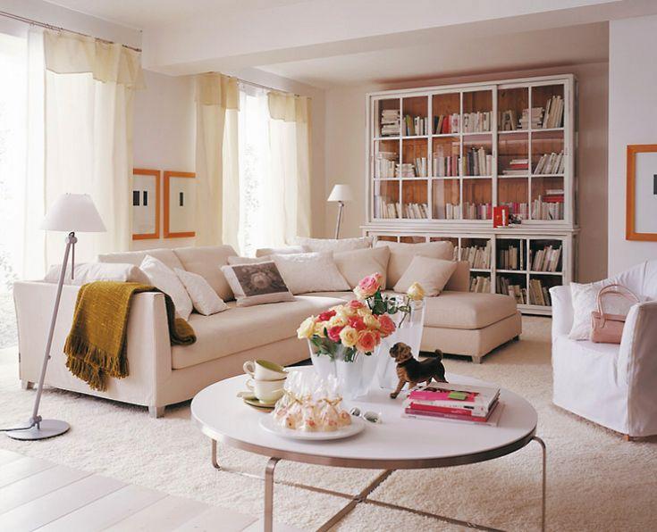 wohnen in wei ratgeber wohnideen elegante. Black Bedroom Furniture Sets. Home Design Ideas