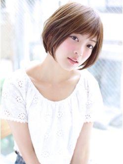 HOULe【根岸宏幸】ナチュラルかわいい☆丸みのあるショートボブ