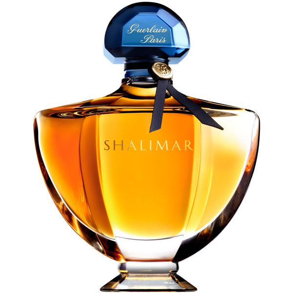 Guerlain Shalimar Eau de Parfum found on Polyvore featuring beauty products, fragrance, perfume, guerlain fragrance, eau de perfume, rose perfume, rose fragrance and edp perfume