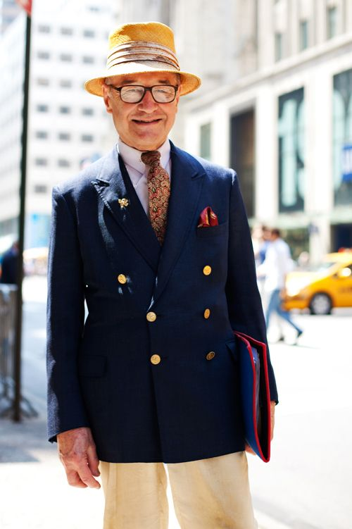 On the Street…Fifth Ave., NYC « The Sartorialist