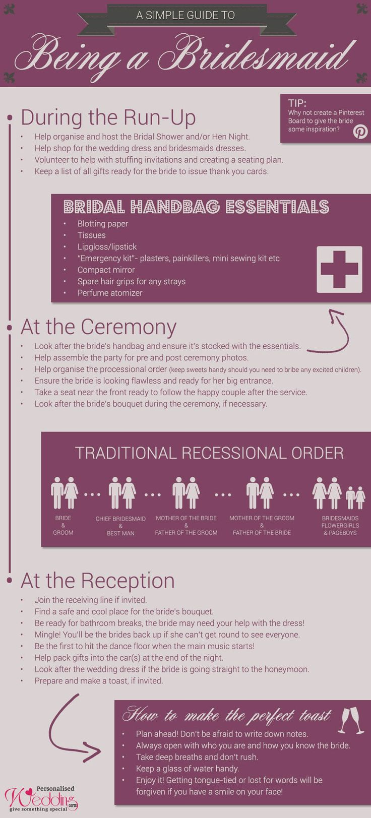 A Simple Guide To Being A Bridesmaid