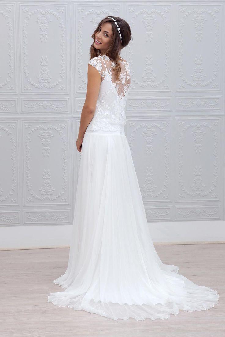 Je vous propose aujourd'hui de découvrir la collection 2015 de robes de mariée de Marie Laporte. I propose today to discover the 2015 collection of Marie Laporte wedding dresses.