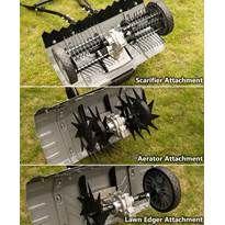 Scarifier, Aerator & Lawn Edger Set
