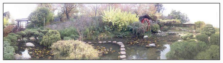 Jardín Japonés  Parque Metropolitano Santiago de Chile