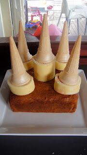Mums in the Kitchen: Easy Castle Cake