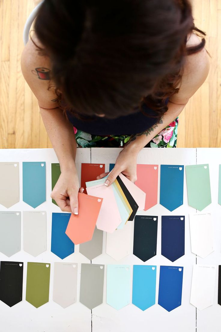 How to Choose a Color Story for Your Home | A Beautiful Mess | Bloglovin'