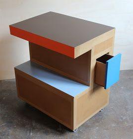meuble en carton sur mesure, meuble en carton design