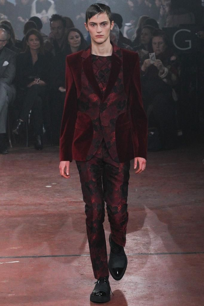 Alexander McQueen Fall 2015 Menswear - Collection - Gallery - Style.com