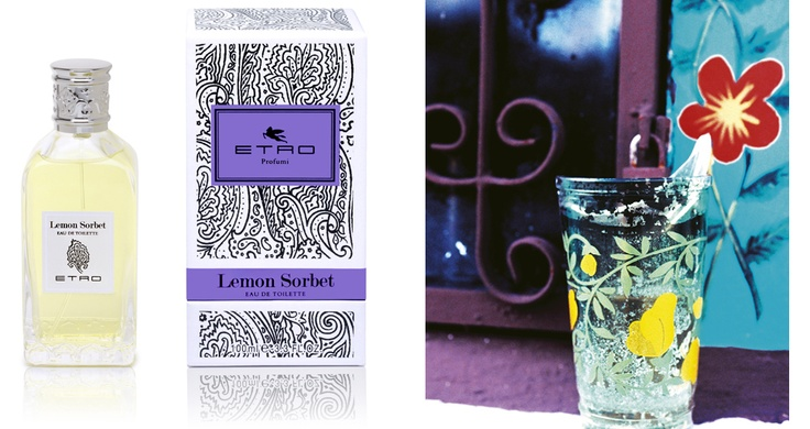 Lemon Sorbet - Etro Fragrance      Note di testa Bergamotto, Petit grain, Limone, Arancio     Note di corpo Lavanda, Rosmarino     Note di fondo Sandalo, Vetiver     FORMATI 100 ml