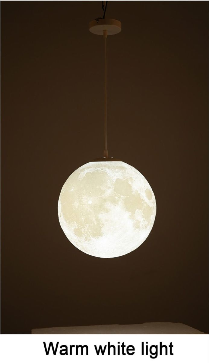 Modern 3d Print Moon Lamp Pendant Lights With Images Pendant Lamp Modern Pendant Light Moon Pendant Light