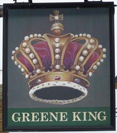 Crown - Regent Street, Stotfold, Bedfordshire, UK. -