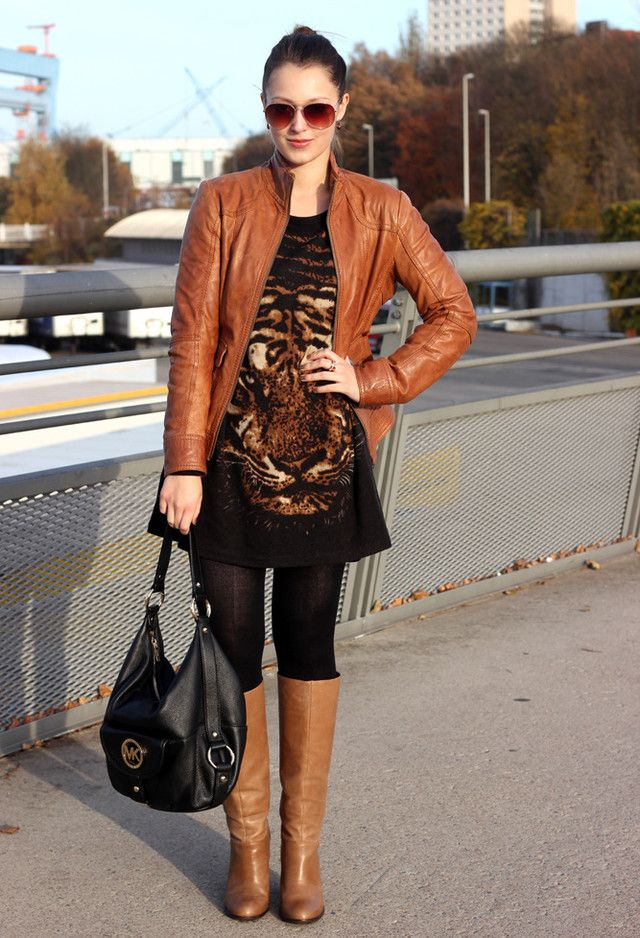 15 winter with brown boots my style