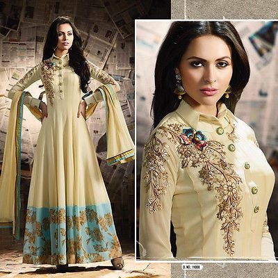Bollywood Designer Pakistani Eid Indian Salwar Kameez Anarkali Party Wear Dress