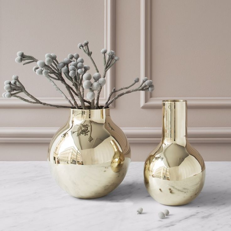 Shop with Boule Vases by Olivia Herms for Skultuna and over Swedish designs and accessories at SUITE NY.