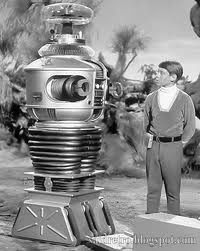 """Danger Will Robinson, danger!"" My stepson is a HUGE fan of the old Lost in Space program."