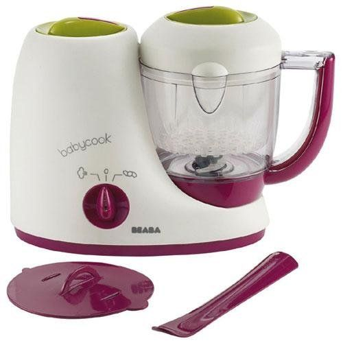 Beaba Babycook Baby Food Maker - Most solid product in the market for what it does. At least until Baby Breeza gets redesigned. This one still requires you to puree while you attend to it.