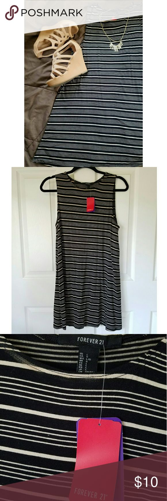 Forever 21 Striped Mini Dress Forever 21 Striped Mini Dress.   Unused. Excellent condition. Forever 21 Dresses Mini