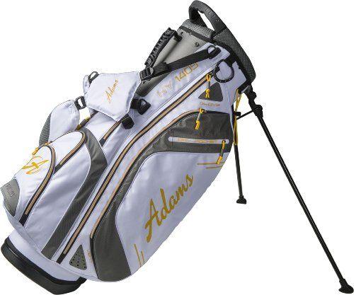 Adams Golf Hybrid Stand Bag HY1405 (White/Gray/Yellow)