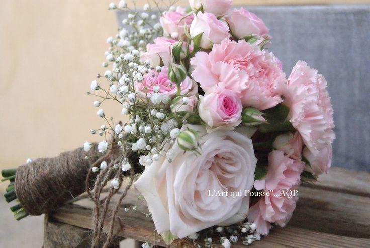 Mariage bohème / Le bouquet de mariée
