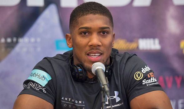 Anthony Joshua granted US visa to keep hopes of fighting in America alive
