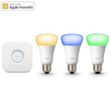 Kit initiere Philips Hue, 3 becuri LED 10W A19 E27