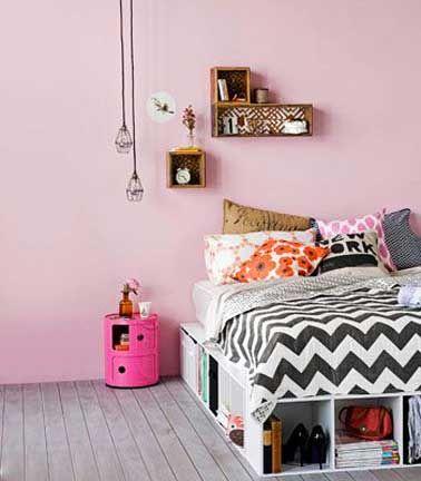 chambre ado rose et gris la chambre d ado fille soigne son ambiance d co - Chambre Rose Gold