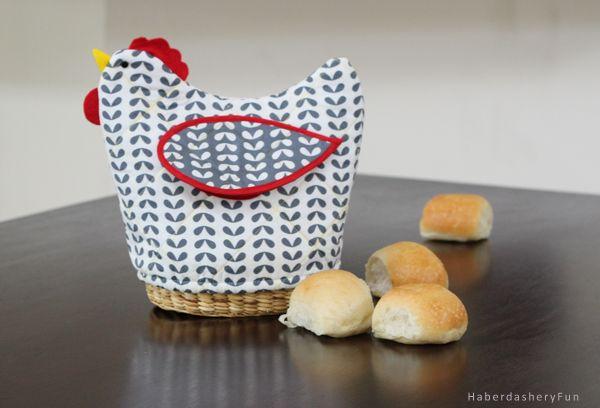 fabric bread basket instructions