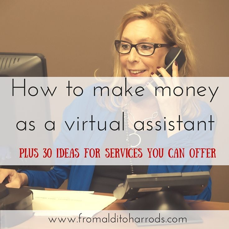 how to make money as a virtual assistant - Real Virtual Assistant Jobs