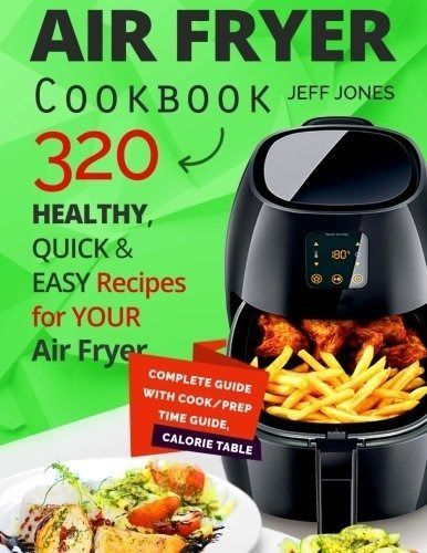 Air Fryer 3 7 Qt Cook Healthy Low Fat Meals Without Oil Recipe Book Included