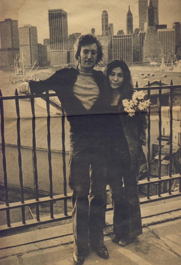 John Lennon y Y... John Lennon 1972