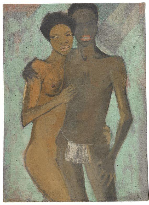 Otto Mueller - Artistenpaar