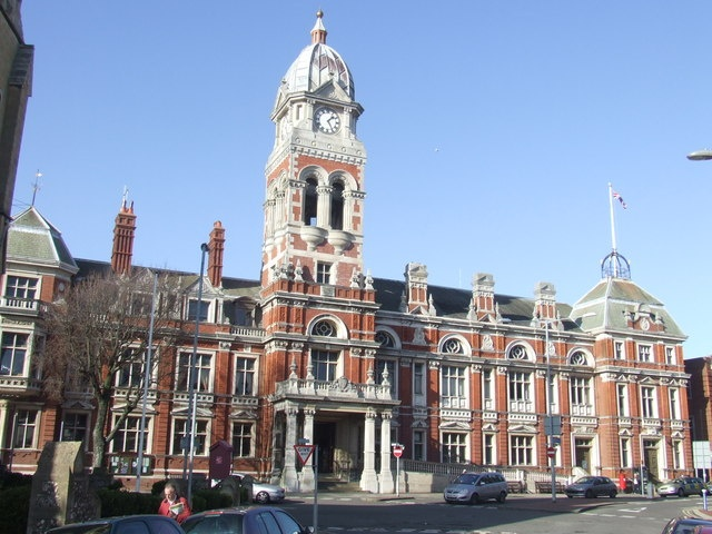 Bournemouth Town Hall, Dorset, England