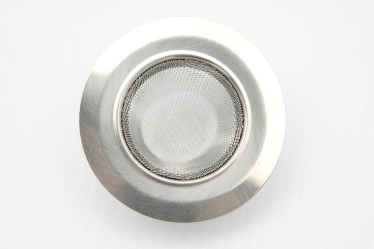 Stainless-Steel Kitchen Sink Strainer