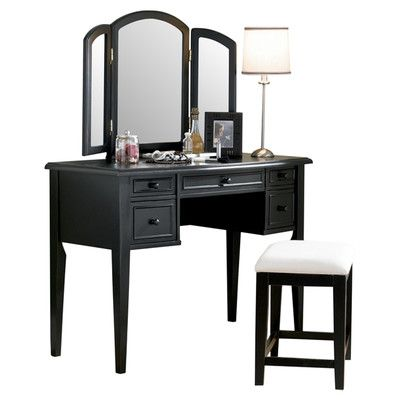 Best Black Vanity Set Ideas On Pinterest Black Vanity Table