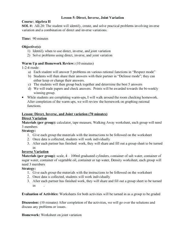 22 Direct And Inverse Proportion Word Problems Worksheet In 2020