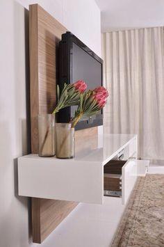 Painel de tv para quarto. Lindo!!!