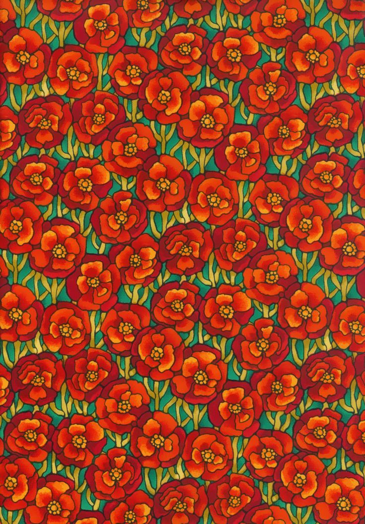 Half Metre Fabric Freedom F853-3 Light Fantastic Poppies Patchwork Quilting by MarilynsPatchwork on Etsy