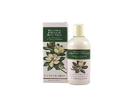 Magnolia Bath and Shower Foam Elixir with Sweet Almond Extract by #L'Erbolario Lodi